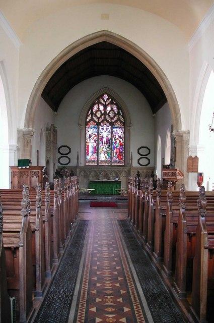 St Mary, Reepham, Norfolk - East end