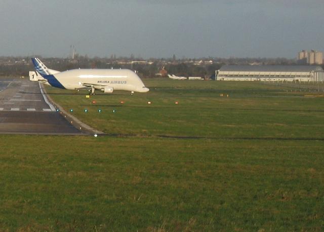 Hawarden Airport and the Airbus Beluga #1