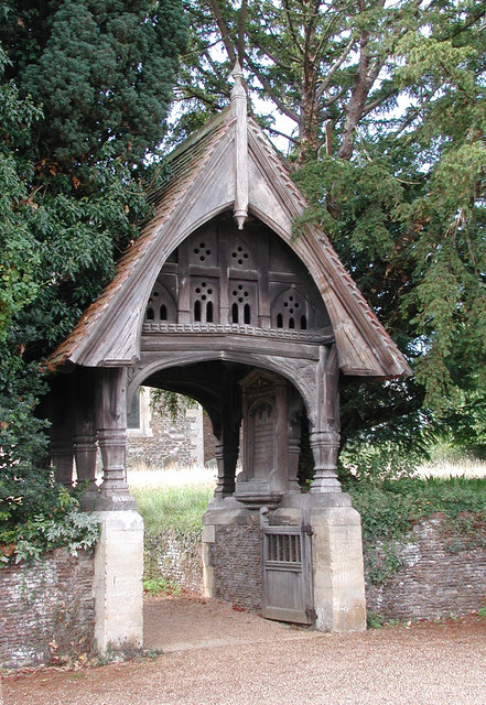 St Peter & St Paul, West Newton, Norfolk - Lychgate