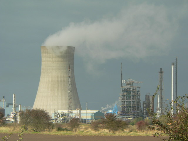 Saltend cooling tower