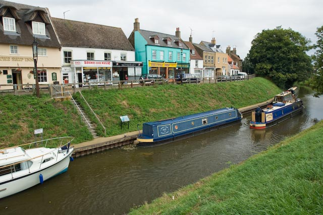 March town Quay - river Nene (old course) part of the Middle Level waterway