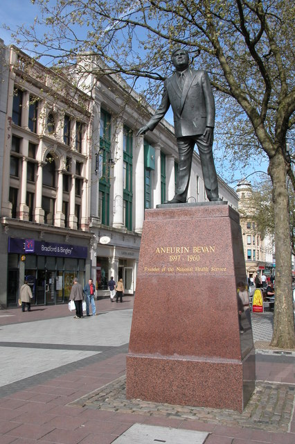 Statue of Aneurin Bevan, Cardiff