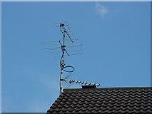 SE2433 : G7HRP VHF-UHF Amateur Radio Antenna at SE2433 by Ian Booth