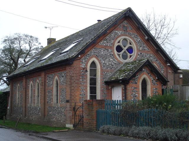 Converted chapel in Bowerchalke