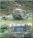 SH5453 : The chapel that was demolished by a falling rock by Eric Jones