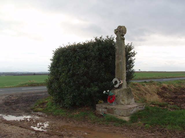 Towton Battlefield Memorial Cross