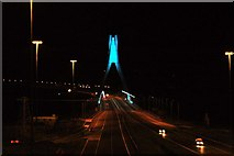 O0575 : The Boyne Bridge at night by Wilson Adams