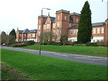 SK2933 : Pastures Hospital at Etwall by John Poyser