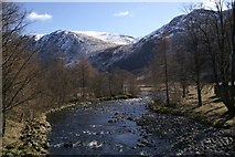 NO2876 : River South Esk at Acharn by Mike Pennington