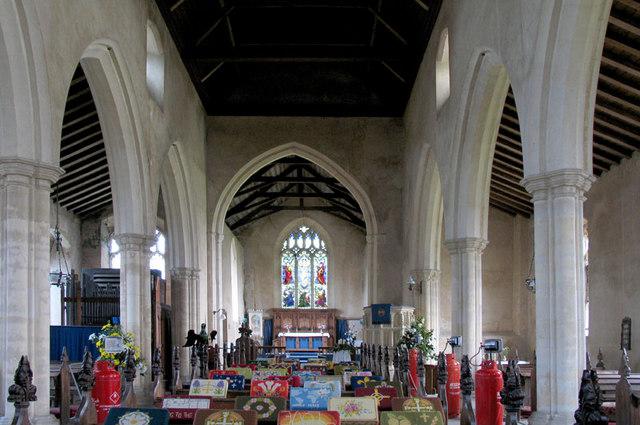 St Peter, Billingford, Norfolk - East end