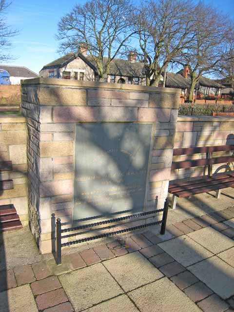 Memorial to William McNally