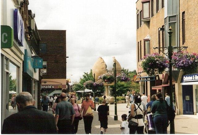 Horsham Pedestrian  precinct