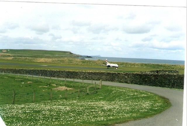 Landing at Sumburgh