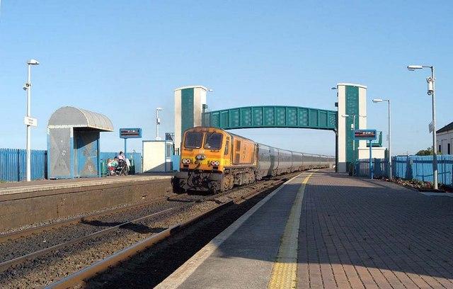 220 passing Laytown Station