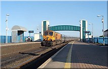 O1671 : 220 passing Laytown Station by Wilson Adams
