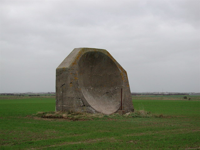 WW1 Acoustic Mirror, Kilnsea