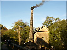 SK3155 : Leawood Pumping Engine In Steam by Tony Bacon