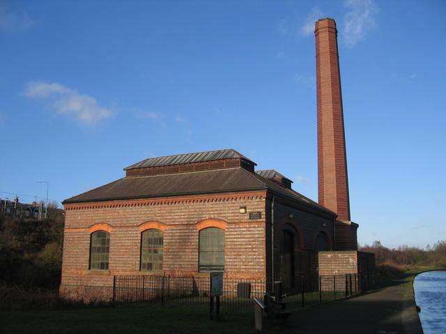 New pumping station, Smethwick