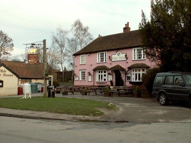 'The Dog' inn at Grundisburgh, Suffolk