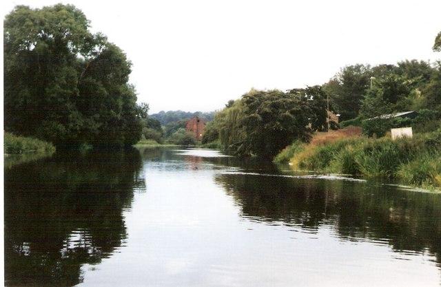River Trent at Burton