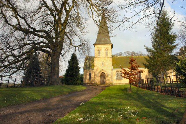 Sand Hutton Church