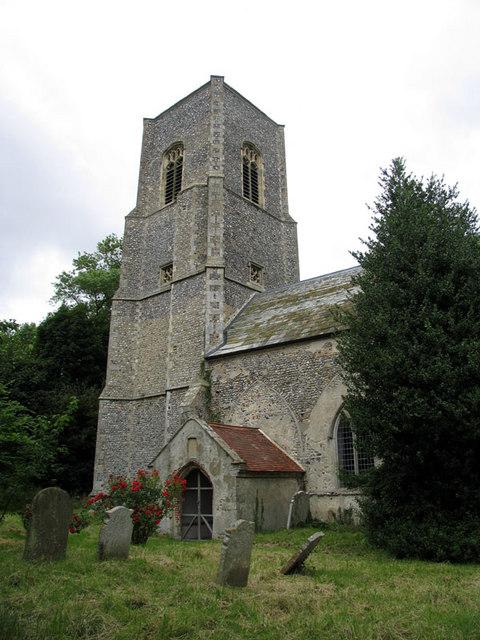 St Giles, Bradfield, Norfolk
