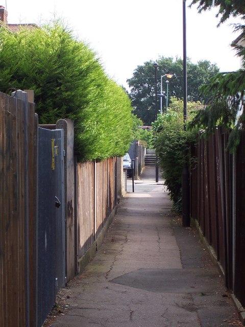 Alley - Sudbury Town