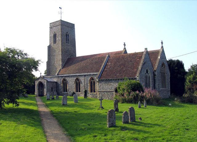 All Saints, Horstead, Norfolk