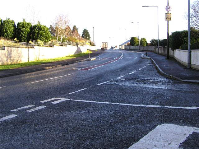 Brookmount Road, Omagh by Kenneth  Allen