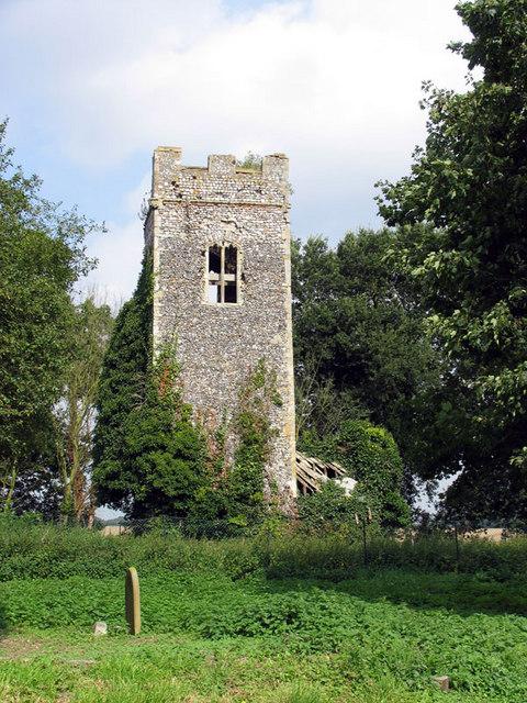 Old Church, Hainford, Norfolk - Ruin