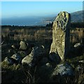SH6211 : Standing Stone and Tremadog Bay by Barry Hunter