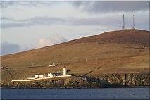 HU4837 : Bressay Lighthouse by Mike Pennington