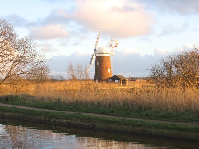Horsey Drainage Mill, Horsey, Norfolk