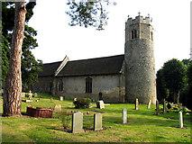 TG1613 : St Edmund, Taverham, Norfolk by John Salmon