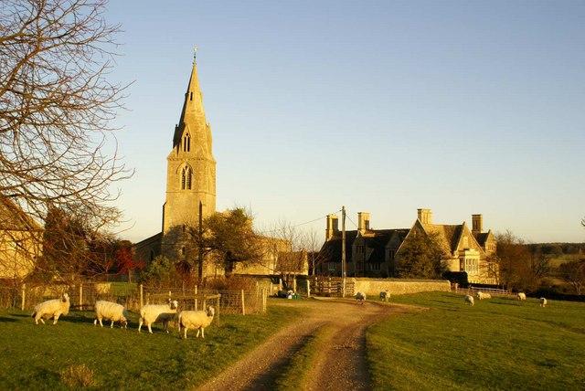 Pilton Church and Manor House