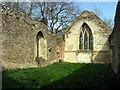 TF9025 : All Saints, Oxwick, Norfolk - Ruin by John Salmon