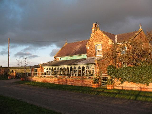 Roadside cafe at Birdforth