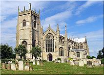 TF5520 : St Clement, Terrington St Clement, Norfolk by John Salmon