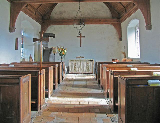 All Saints, Lessingham, Norfolk - East end