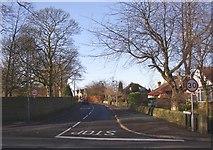 SE1421 : Toothill Lane, Rastrick by Humphrey Bolton