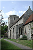 TR3154 : St Mary the Virgin, Eastry, Kent by John Salmon