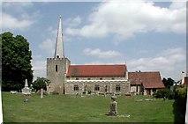 TQ6757 : St Mary, West Malling, Kent by John Salmon