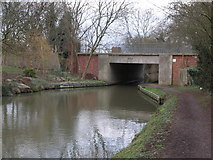 SP7288 : Canal Bridge by Richard Williams