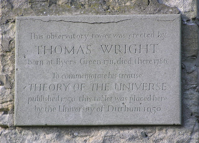 Commemorative Tablet : Wright's Observatory : Westerton