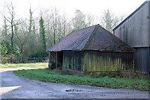 TQ5334 : Small Barn, Bullfinches Farm by Robin Webster