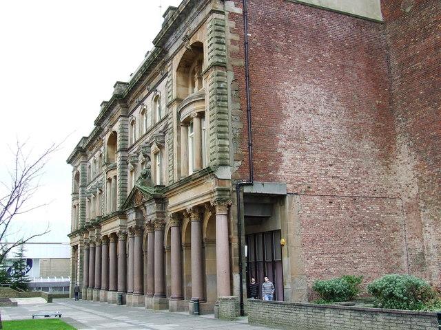 Greenock Town hall main facade