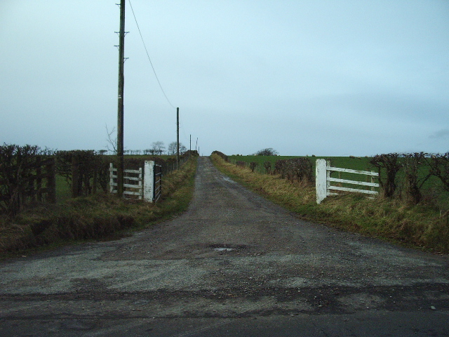 The Road to Dykehead Farm