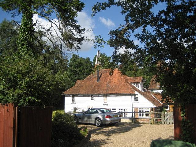 The Oast House, Golford, near Sissinghurst, Kent