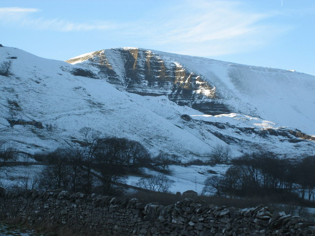 Mam Tor in snow