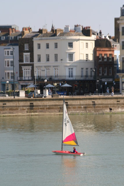 Set sail in Margate Harbour
